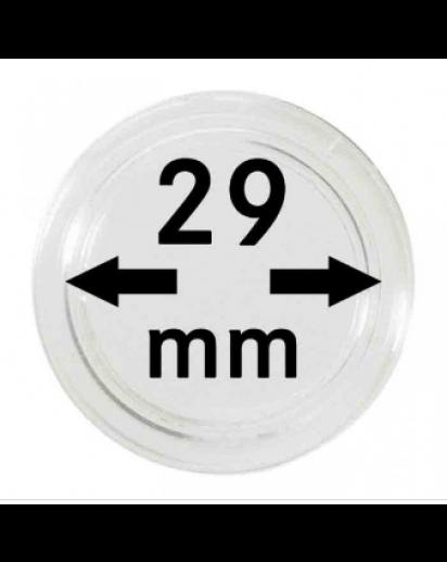 MÜNZKAPSELN  INNEN-Ø   29 mm    10er Packung