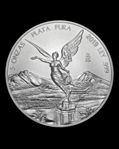 Mexiko 2019  Libertad Silber 5 oz