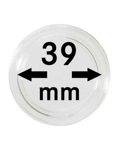 MÜNZKAPSELN  INNEN-Ø   39 mm    10er Packung