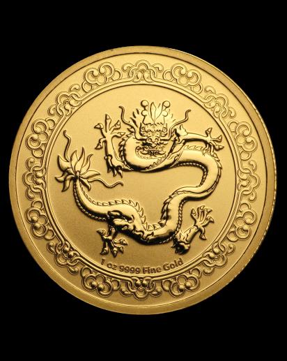 Niue 2019  Celestial Animals The  Green Dragon - Grüner Drache Gold 1 oz
