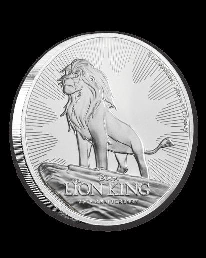 Niue 2019  Disney Lion King  25 Jahre König der Löwen Silber 1 oz