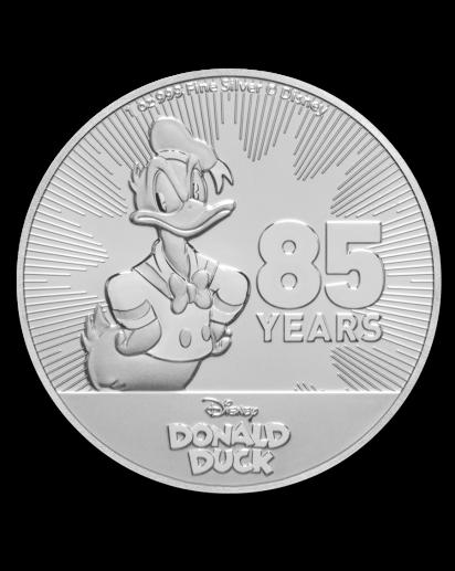 Niue 2019  Donald Duck  Silber 1 oz