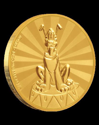 NIUE 2020  PLUTO - Serie Mickey Mouse & Friends Gold 1/4  oz  Auflage 100 Stück