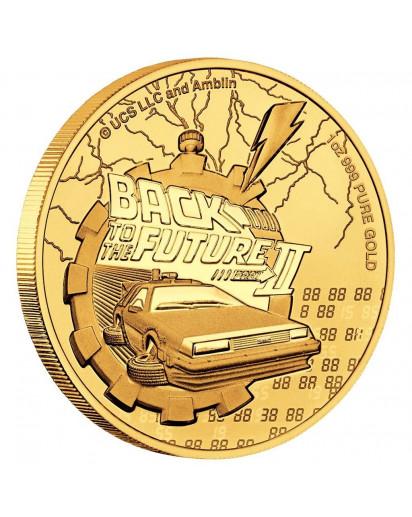 Niue 2021 Zurück in die Zukunft - Back in the future Gold 1 oz
