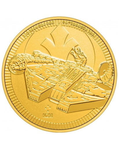 Niue 2021 Millenium Falke - Star Wars Gold 1 oz