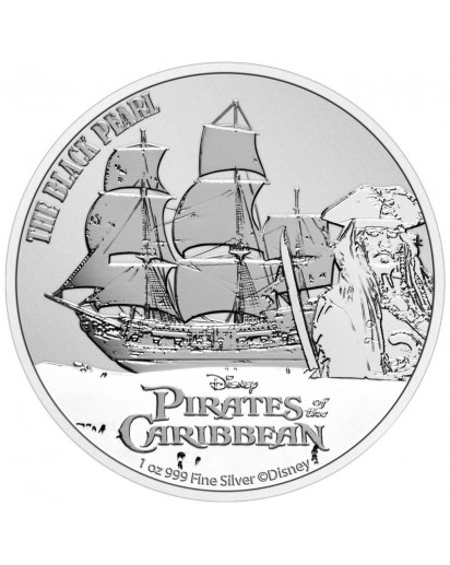 Niue 2021 The Black Pearl - Fluch der Karibik Silber 1 oz