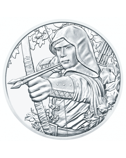 Österreich 2019  825 Jahre Münze Wien  Silber 1 oz ROBIN HOOD