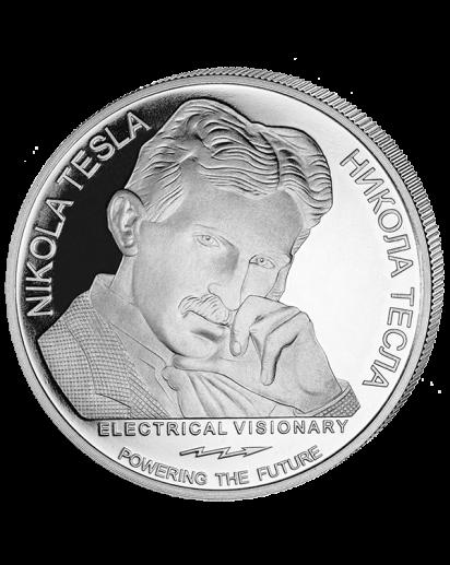 Serbien 2018 Nikola Tesla - Wechselstrom Silber 1 oz