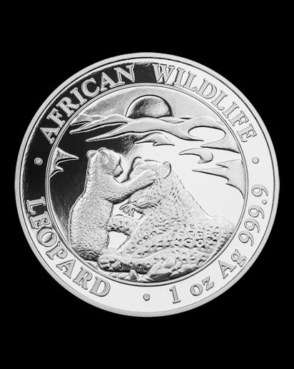 Somalia 2019  Leopard 1 oz Silber