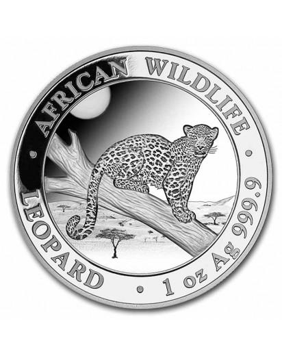 Somalia 2021  Leopard 1 oz Silber