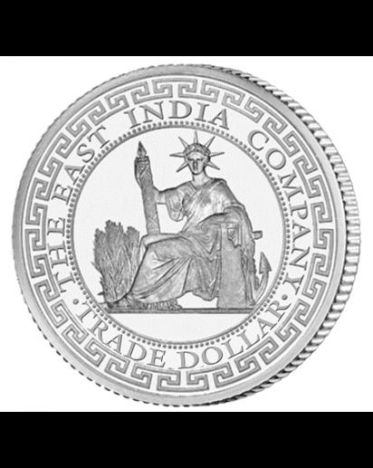 St. Helena 2020 French Trade Dollar Silber 1 oz