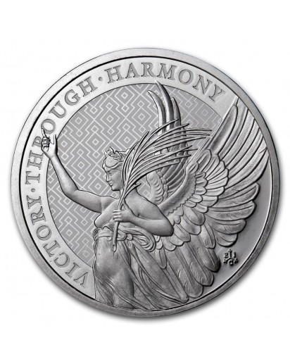 St. Helena 2021 The Queen´s Virtues - Victory  Silber 1 oz