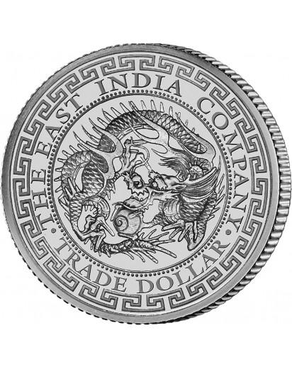 St. Helena 2019  Japan Trade Dollar Silber 1 oz