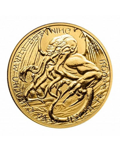 Tokelau 2021 The Great Old One: CTHULHU Gold 1 oz