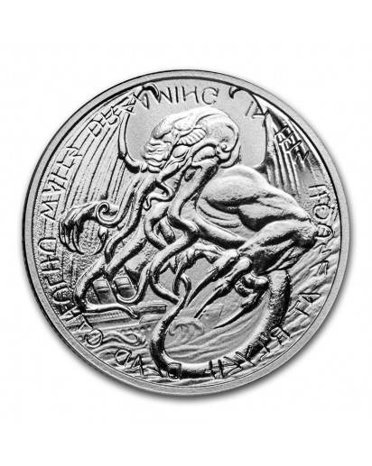 Tokelau 2021 The Great Old One: CTHULHU Silber 1 oz
