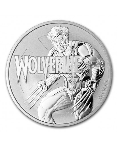 Tuvalu 2021  Marvel  WOLVERINE  Silber 1 oz