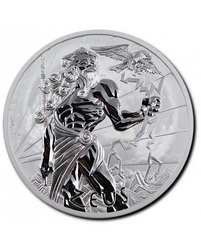 Tuvalu 2020  ZEUS - Gods of Olymp Silber 1 oz