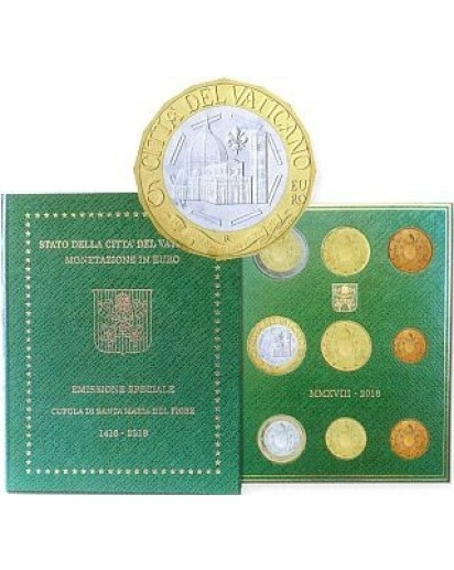 Vatikan 2018 KMS st mit 5 € Santa Maria del Fiore
