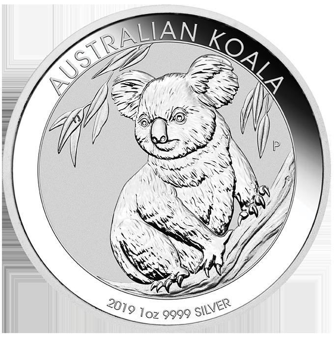 australien 2019 koala silber 1 oz anlagem nze preis. Black Bedroom Furniture Sets. Home Design Ideas