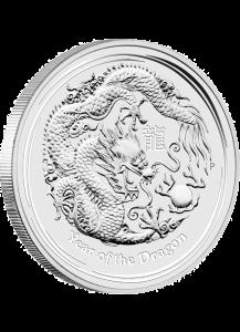 Australien 2012 Jahr des Drachen Lunar II Silber 1 oz