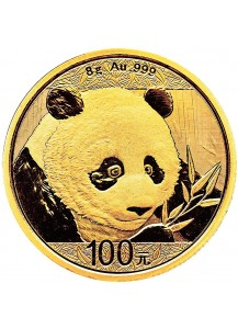 China 2018   Panda  Gold 8 g