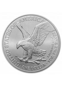 USA  2021  Silver Eagle  Silber 1 oz  TYPE 2