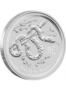 Australien 2013 Jahr der Schlange  Lunar II Silber 1 oz