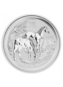 Australien 2014 Jahr des Pferdes  Lunar II Silber 1 oz