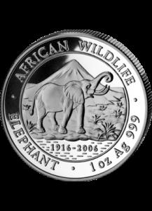 Elefant 2006 Somalia 1 oz Silber