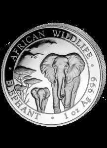 Elefant 2015 Somalia 1 oz Silber