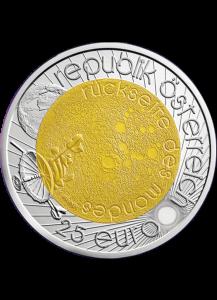 Österreich 2009  NIOB 25 €  Jahr der Astronomie