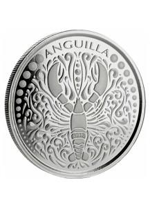 Anguilla 2018  Lobster - Hummer  EC8 Serie Silber 1 oz
