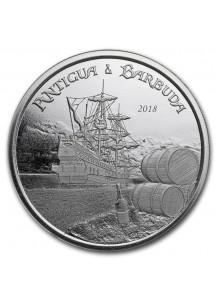Antigua und Barbuda 2018 Rum Runner 1 oz Silber