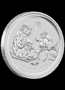 Australien 2016 Jahr des Affen Lunar II Silber 5 oz
