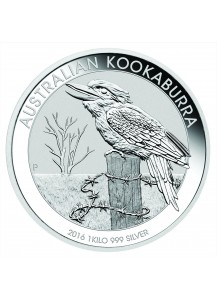 Australien 2016 Kookaburra  Silber 1 Kilo