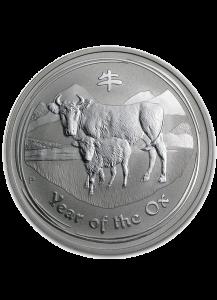 Australien 2009 Jahr des Ochsen Lunar II Silber 500 g