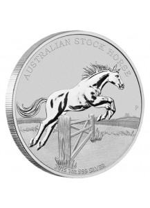 Australien 2015 Stock Horse  Silber 1 oz