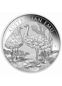 Australien 2019  EMU  Silber 1 oz