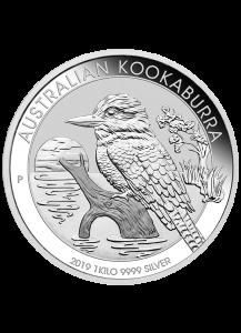 Australien 2019   Kookaburra  Silber 1 Kilo