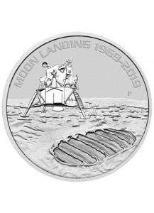Australien 2019  50 Jahre Mondlandung Apollo 11 Silber 1 oz st Moon Landing
