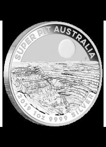 Australien 2019  SUPER PIT  Silber 1 oz