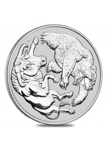 Australien 2020  BULL AND BEAR  Silber 1 oz