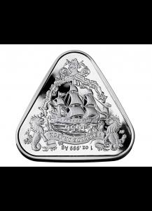 Australien 2020  GILT DRAGON Schiffswrack Serie Silber 1 oz
