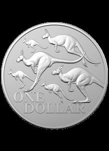 Australien 2020 Rotes Känguru RAM Silber 1 oz