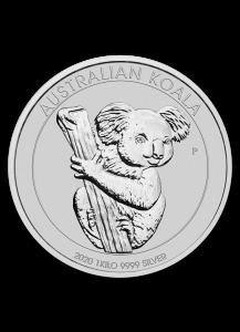 Australien 2020  Koala  1 Kilo  Silber
