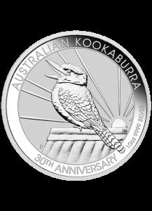 Australien 2020  Kookaburra Silber 10 oz  30 Jahre Kookaburra 1990 - 2020