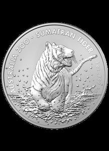 Australien 2020  SUMATRA TIGER Silber 1 oz