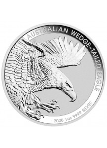 Australien 2020  Wedge-Tailed Adler  Silber 1 oz