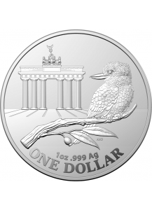 Australien 2020  Kookaburra WMF Berlin - Brandenburger Tor Silber 1 oz