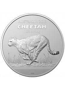 Australien 2021 CHEETAH - Gepard  Silber 1 oz